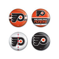 Philadelphia Flyers Buttons 4-Pack