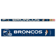 Denver Broncos Pencils - Pack of Six (6)