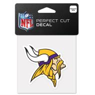 "Minnesota Vikings 4""x4"" Team Logo Decal"