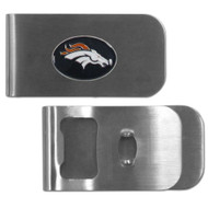 Denver Broncos Money Clip Bottle Opener