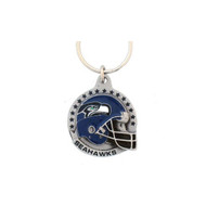 Seattle Seahawks Pewter Keychain