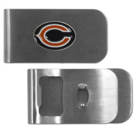 Chicago Bears Money Clip Bottle Opener