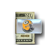 Green Bay Packers Pewter Emblem Money Clip