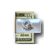 Detroit Lions Pewter Emblem Money Clip