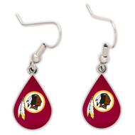 Washington Redskins Tear Drop Earrings