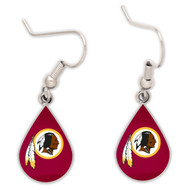 Washington Redskins Tear Drop Earrings