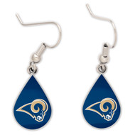 Los Angeles Rams Tear Drop Earrings