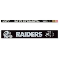 Oakland Raiders Pencils - Pack of Six (6)