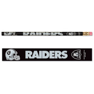 Oakland Raiders Pencils - Pack of Six (6)