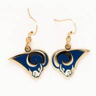 Los Angeles Rams Dangle Earrings NFL
