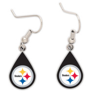 Pittsburgh Steelers Tear Drop Earrings