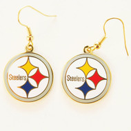 Pittsburgh Steelers Dangle Earrings