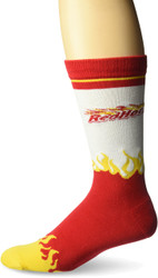 Red Hots Red One Size Fits Most Crew Socks