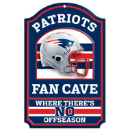 New England Patriots Wooden Sign