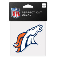"Denver Broncos 4""x4"" Team Logo Decal"