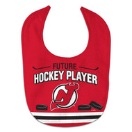 New Jersey Devils Future Hockey Player All Pro Baby Bib