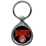 Marines Chrome Key Chain