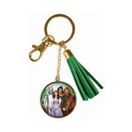 Wizard of Oz Tassle Keychain