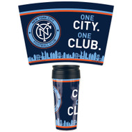 New York City FC Travel Mug