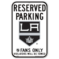 Los Angeles Kings Fans Only Reserved Parking Sign