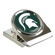 Michigan State Metal Magnet Clip