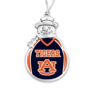 Auburn University Christmas Ornament - Snowman with Football Jersey