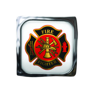Fire Fighter Maltese Cross Visor Clip