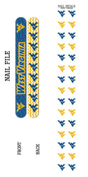West Virginia Nail File and Nail Decals