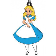 Alice in Wonderland Soft Touch PVC Keychain