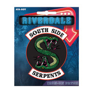 Riverdale South Side Serpents Full Color Iron-On Patch