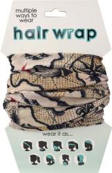 Pirate Map Hair Wrap