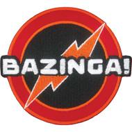 The Big Bang Bazinga� Full Color Iron-On Patch