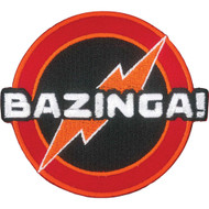 The Big Bang Bazinga� Full Color Iron-On Patch