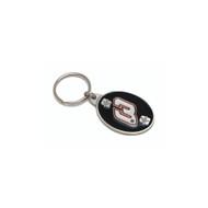 Dale Earnhardt Sr. # 3 Pewter Keychain NASCAR Ver 2