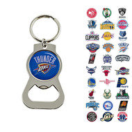 NBA Bottle Opener Keychain - Choose Your Team