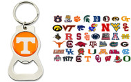 NCAA Bottle Opener Keychain - Choose Your Team