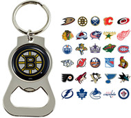 NHL Bottle Opener Keychain - Choose Your Team