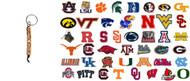 NCAA Bead Keychain - Choose Your Team