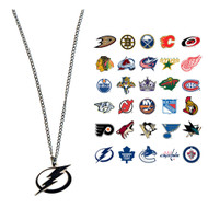 NHL Logo Necklace - Choose Your Team