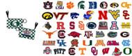 NCAA Coin Purse Keychain - Choose Your Team