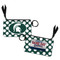 University of Mississippi Coin Purse Keychain