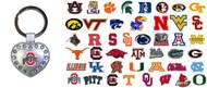 NCAA Metal Heart Keychain - Choose Your Team