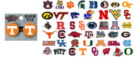 NCAA Ponytail Holders - Choose Your Team