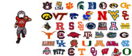 NCAA Magnet Bottle Opener - Choose Your Team