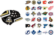 NHL Goalie Mask Pin