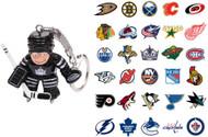NHL Goalie Keychain