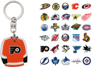 NHL Jersey Keychain - Choose Your Team