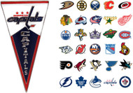 NHL Pennant Pin - Choose Your Team