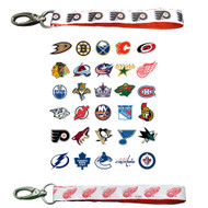 NHL Wristlet Keychains - Choose Your Team