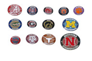 NCAA Oval Lapel Pin - Choose Your Team